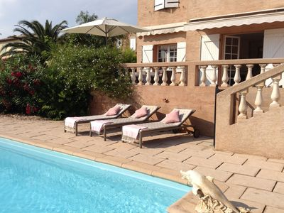 Photo for Wonderful Villa With Pool, Set In A Tranquil Gardens, near to beautiful beach.