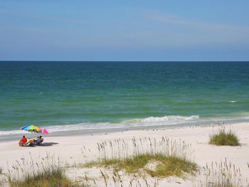 Gulf front condo  Stunning Views , Book via VRBO from Sept 2-Oct 12 and get  a 1/2 priced golf cart rental from Beach Bums with the rental of two or