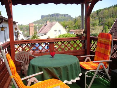 Photo for Haus am Stein - the middle of Saxon Switzerland