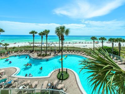 Photo for Grand Panama 1508  2Br PLUS Bunk area..Beach Front!! Discounts!