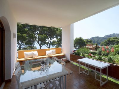 Photo for Holiday rental apartment in Begur, Aiguablava