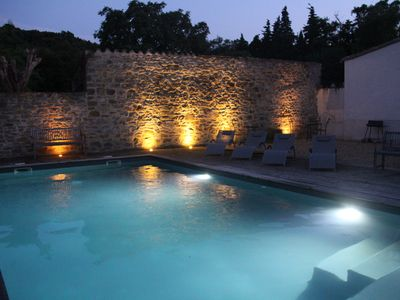 Photo for Luxurious old stone barn conversion for 8 people with a swimming pool
