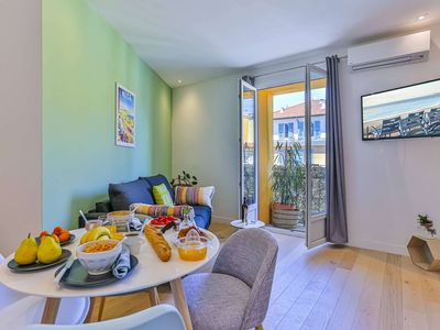 Photo for Place Garibaldi - New 1 bedroom apartment - A/C