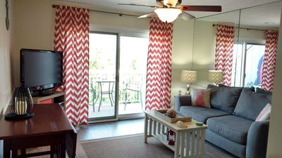 Photo for OCEAN VIEW & WALK EVERYWHERE...We're Across From Coligny! 100% Fully Updated!