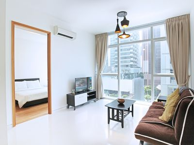 Photo for Spacious & Bright 1 BR in Tanjong Pager, CBD Area
