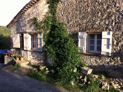 Photo for Seillans, Old farmhouse, charming with private pool