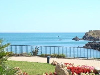Photo for Apartment up to 4 people in Collioure feet in water facing the sea