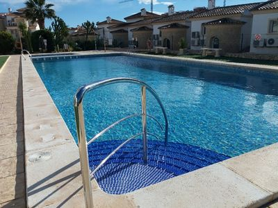 Pool located in the next fase of the complex