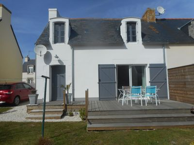 Photo for From Fisherman House 150m from the beach. Garden. South terrace