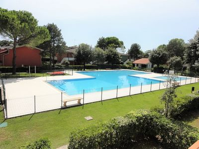 Photo for Holiday apartment with pool and air conditioning