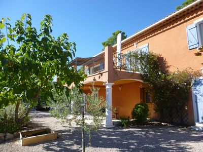 Photo for Villa with swimming pool in an authentic village of Center Var (Lorgues)
