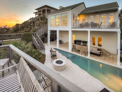 Photo for Amazing Gulf-Front 30A Vacation Home w/ Guest House & Custom Saltwater Pool!