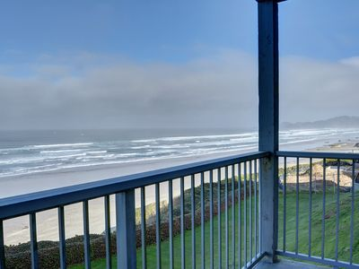Photo for The perfect oceanfront condo for two in the heart of Newport's Nye District!