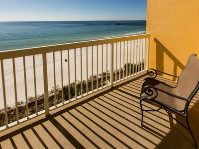 Photo for Sunny & bright waterfront getaway w/ shared pools, gym, & beach access