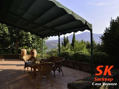 Photo for Sarkeep - Villa Immersed in the vineyards of Taurasi