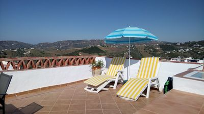 Photo for Spacious and bright house in the historic center. 360º views terrace,