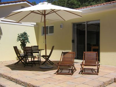 Photo for Cosy Chalet with private patio in Constantia, the leafy suburb of Cape Town