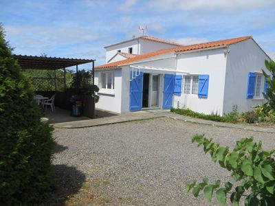 Photo for Two bedroom detached gîte close to the Vendée coast, family & dog friendly