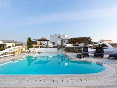 Photo for Panoramic Villa Lukas to rent in Mykonos, with 3 bedrooms, private pool, 6 sleeps.