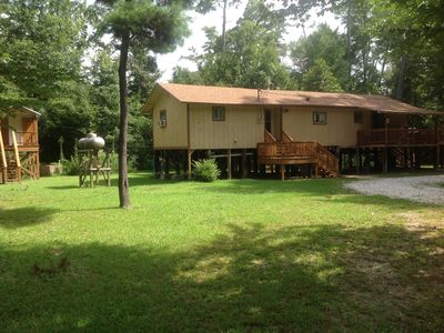 Our first off property location The Blue Kamp