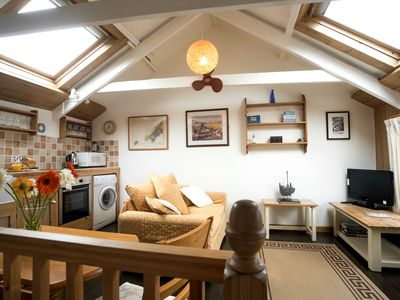 Photo for Abbey Place Net Loft, Converted Fisherman's Loft In The Heart Of Mousehole