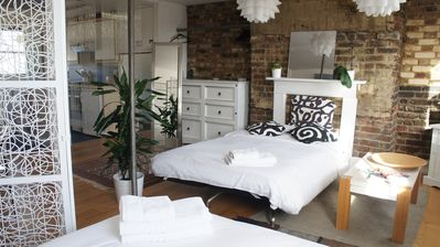 Photo for Bright and contemporary studio flat near Portobello Road