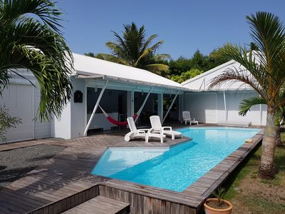 Photo for Villa for 8 people with private pool in quiet housing estate in St-François