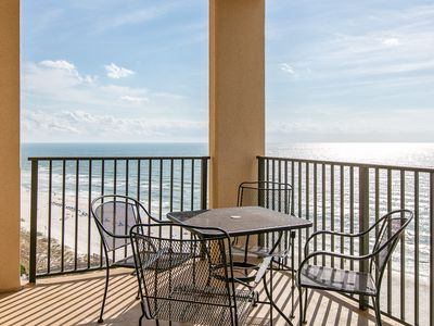 Photo for 2BD, 2BA Orange Beach Beachfront Condo at Phoenix V - Private Balcony