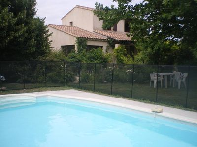 Photo for villa with large garden and private pool, near Luberon