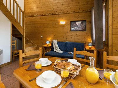 Photo for Chalets and Lodges des Alpages - Three-Room Apartment - 8 People