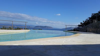 Photo for Luxury Estate Villa + 2 Private Flats + tennis court/pool/sauna & superb beaches