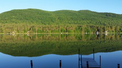 Photo for Enjoy the spectacular view at Sawyer's Moose Pond Waterfront Cabin