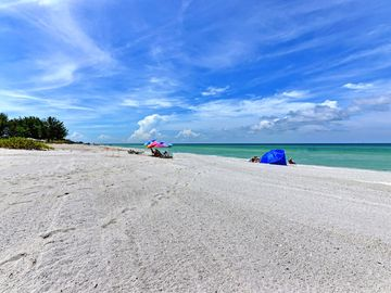 Sand Cay Beach, Longboat Key, FL, USA