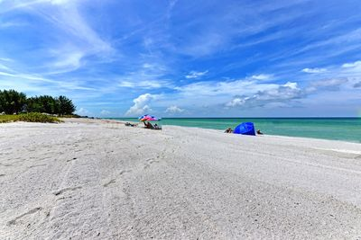 Enjoy the fabulous sand on our uncrowded beach!