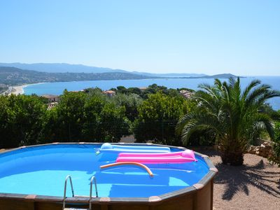 Photo for SUPER PROMO 27 JULY AUGUST 3rd Beautiful Villa Porticcio with superb views