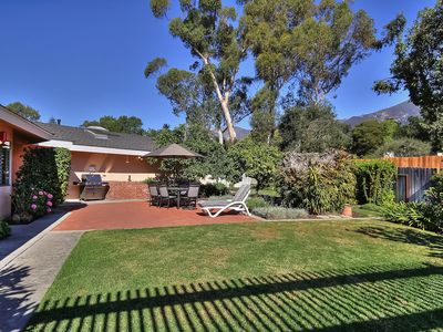 Photo for 3BR/2BA Classic Montecito House, Minutes to Butterfly Beach, Sleeps  6