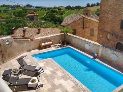 Photo for 4BR House Vacation Rental in Patrignone, Marche
