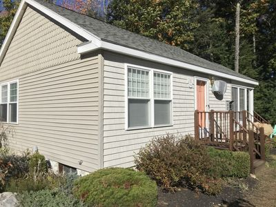 Photo for COZY, PRIVATE 2/1 Cottage W/POOL/HOT TUB/GYM/TENNIS COURT/GAME ROOM, NEAR BEACH!