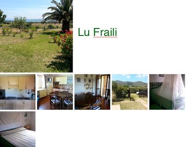 Photo for Villetta 1km from the beaches with garden and sea view