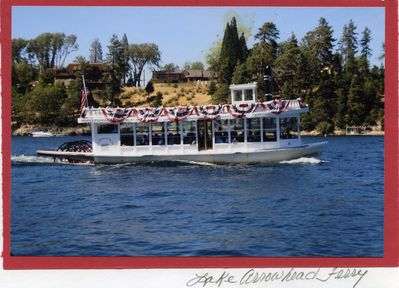Lake Arrowhead Queen Paddleboat