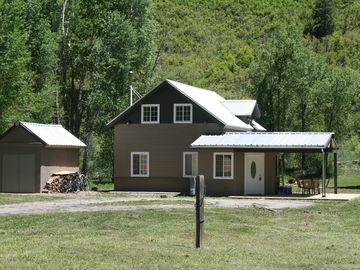 Cozy Home On The Dolores River with Horse Corrals
