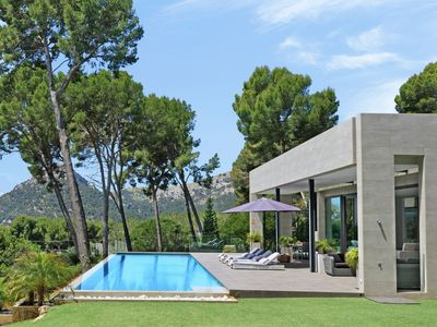 Photo for Azzurra is a light 4 bedroom 3 bedrooms luxury villa with beautiful sea views in Formentor