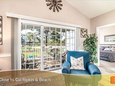 Photo for Minutes to the Beach! Perfect Location. Enjoy 3rd Floor Retreat Overlooking Myrtlewood Golf!