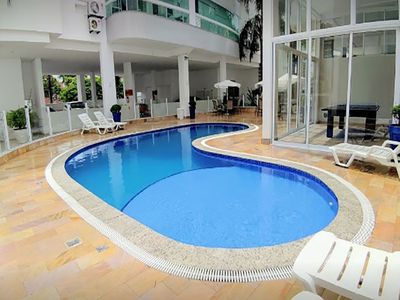 Photo for Apartment 2 Bedrooms, swimming pool and balcony with barbecue