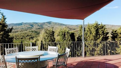 Photo for Farmhouse in the heart of Tuscany, above a hill of Chianti