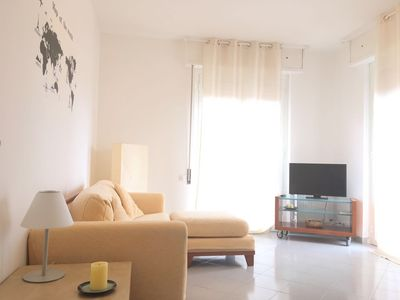 Photo for Elegant apartment 400 meters from the sea with garage
