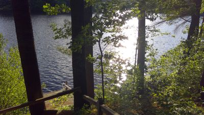 Photo for COTTAGE ON BELLEAU LAKE/BOAT/SKI/RELAX