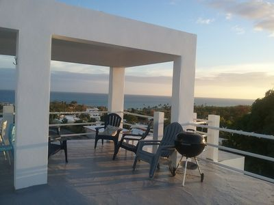 Photo for Spectacular Caribbean views  with 3-bedrooms own roof deck Close to Malecon