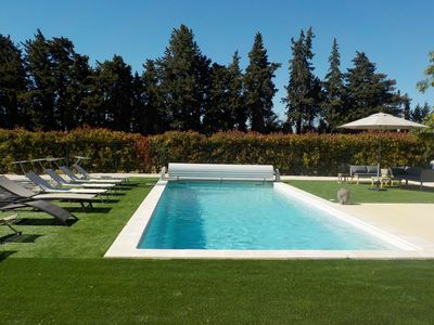 Photo for Villa Crousadou, 4 bedrooms and pool, in Saint Remy de Provence, near Arles