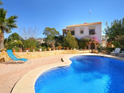 Photo for Pretty Traditional Villa within walking distance of  all facilities and beach.